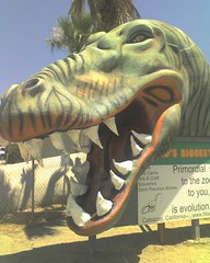 Cabazon Dinosaurs from Pee Wee!