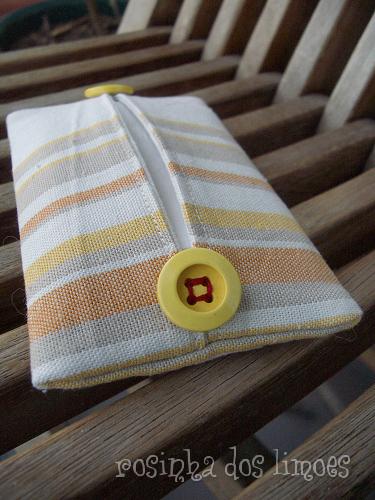 Bolsinha para os lenços