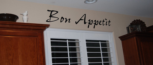 Quote the Walls Bon Appetit
