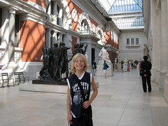 Dominic at the MET Museum