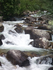 Cascade Creek (mtncanyon) Tags: lake mountains creek colorado eagle indian peak trail crater lone wilderness peaks cascade