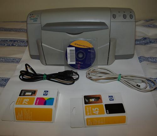 Драйвер Hp Deskjet 930C