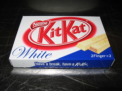 Mitsuwa Marketplace: Nestle - KitKat - white box