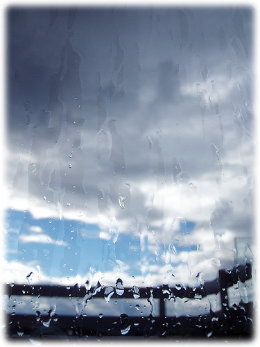 rain on the window (again)