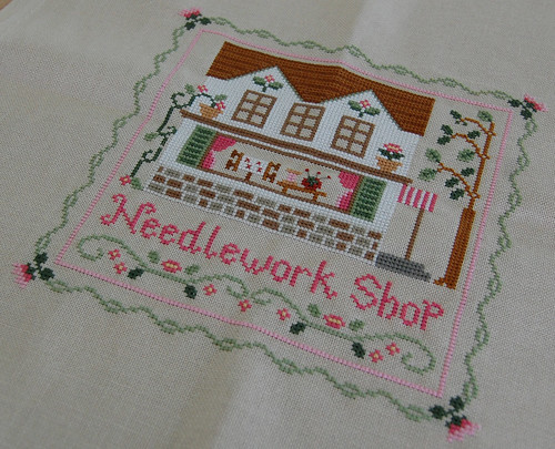 Needlework Shop Finished!!