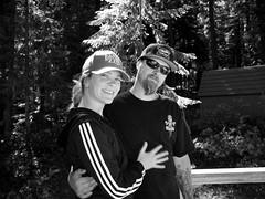 aww (scmtngirl) Tags: justin vacation bw sarah cabin noce crescentlake