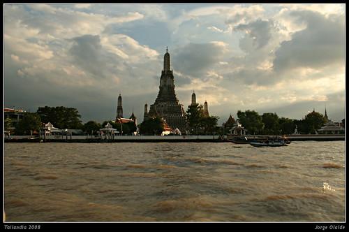 Bangkok desde el río