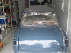 071 (ssbielman) Tags: vw volkswagen notchback azurblau