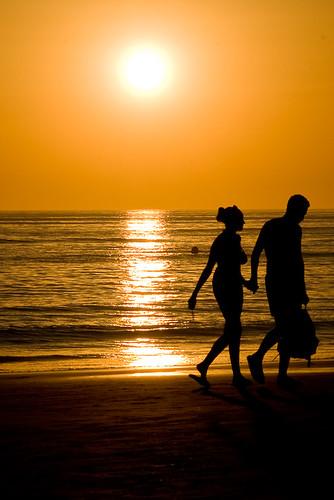 Sunset in love