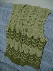 WIP: secret garden vest