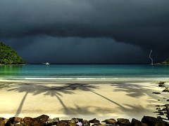 Rainy Season in Thailand (Bn) Tags: beach sunshine thailand island seaside topf50 over topf300 palmtrees tropical thunderstorm lightning siam topf100 500faves topf250 topf200 rainyseason excellence privatebeach kohkood topf400 darkandlight paradisebeach bluebay top500 latesunlight palmbomen lowsunlight topf700 topf600 topf1000 100faves 50faves topf800 200faves topf900 35faves palmtreeshadows golddragon thunderandlighting 300faves vision1000 1000faves platinumphoto colorphotoaward aplusphoto visiongroup 400faves 600faves torrentialrains easternthailand 75faves 900faves 700faves overtheexcellence tratprovince goldstaraward  800faves kohkut exploreheaven vision100 totallythailand lesamisdupetitprince tropicalstormcoming islandkut sunsetonkohkut nextphotocontest kohkoodresortspa turquoiseseaside nearbycambodiaborder bangboabay