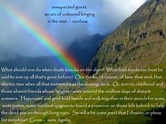 rainbow haibun (floots) Tags: skye landscape scotland poetry poem memory rainbows mortality haibun