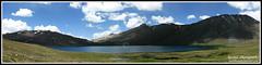 Sheosar Lake Panorama (R a S h I d) Tags: pakistan lake rashid deosai skardu sheosarlake northernareasofpakistan rashid4u rashidphotography