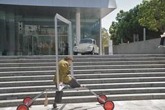 The Shifting Cornerstone (Steve Rhodes) Tags: sf sanfrancisco california ca history public dance dancers dancing performance august publicart aug yerbabuena 2008 august2008 zaccodancetheater theshiftingcornerstone shiftingcornerstone