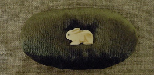little bunny pincushion