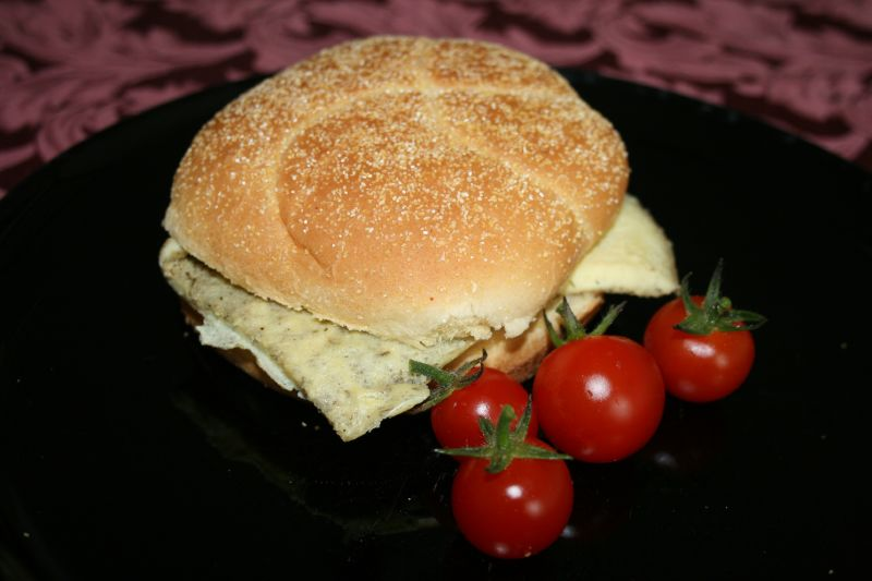 Dilled Egg Breakfast Sandwich