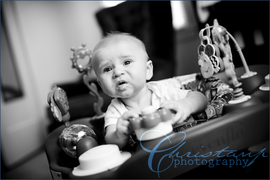 ChristanP Photo - Ashton in his exersaucer