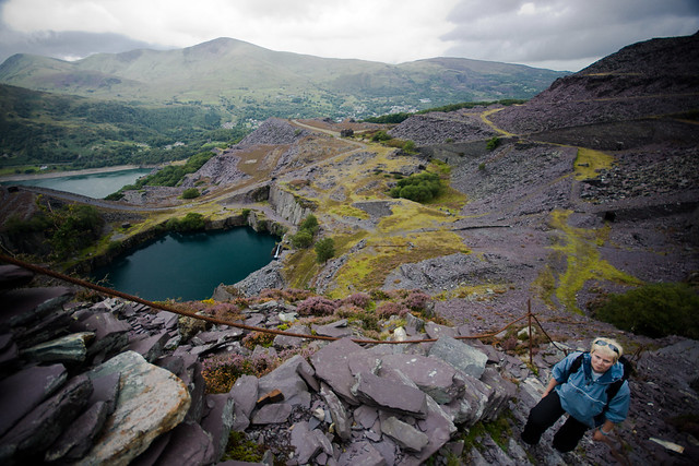 Dinorwic-49 Fox's path and Dalis hole (by Ben Cooper)