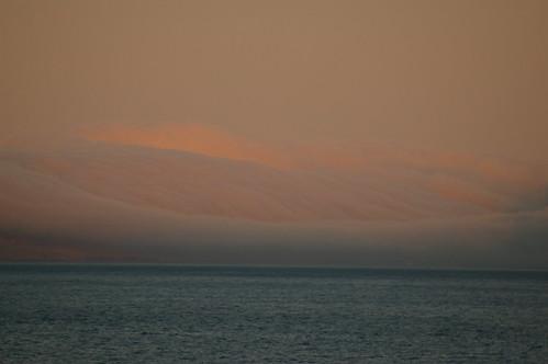 Faroe Islands - fog approaching