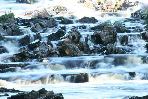 river water caressing rocks