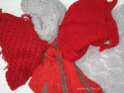 FO's shawls