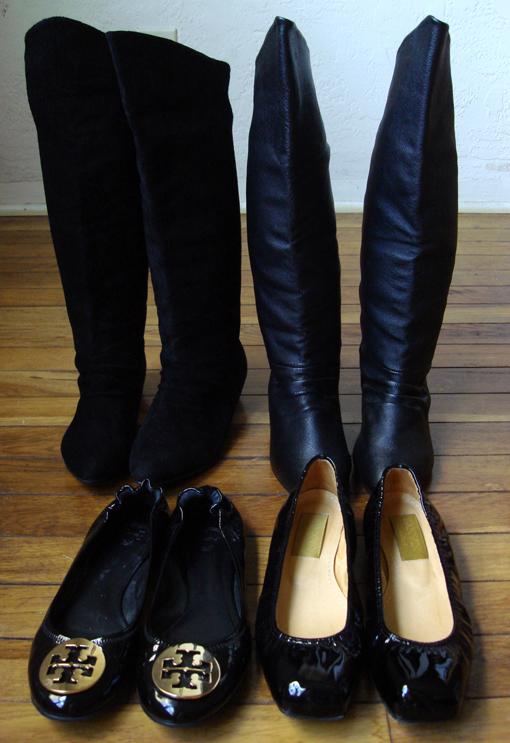 Tory Burch Boots. Tory Burch Patent flats,