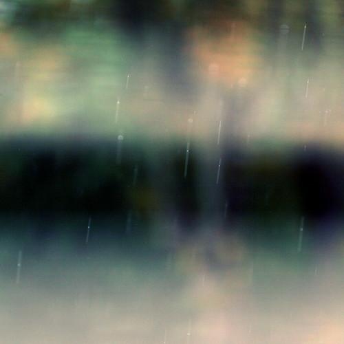 Sunday rain, broken blind