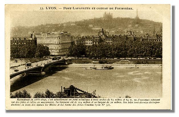 LYON-33-Pont LAFAYETTE
