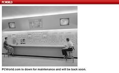 PCWorld - Pantalla de error - Error Page
