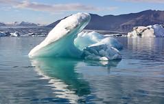Iceberg (maroma) Tags: blue naturaleza ice nature water azul lago iceland islandia agua reflect reflejo iceberg glaciar hielo glcier mywinners abigfave anawesomeshot aplusphoto theunforgettablepictures platinumheartaward goldstaraward