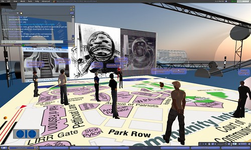 Building a histroric recreation of the 1939 Worlds Fair on ReactionGrid.