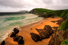 Blasket Sound (Les Rho@des) Tags: ireland beach dingle blasketislands blasketsound top20ireland absolutelystunningscapes ryansdaughter