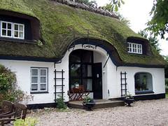 Haus mit Rietdach