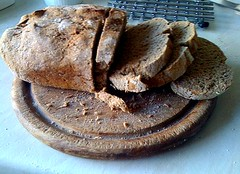 rye bread, finished article