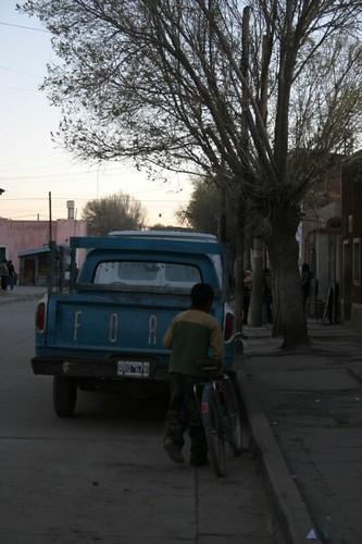Abra Pampa street life...