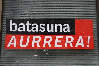 Cartel de Batasuna