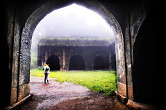 Gateway to Panhala Fort ! (Anoop Negi) Tags: world travel girls portrait people india color colour men girl festival photography for photo amazing women essay media place image photos fort gorgeous delhi indian bangalore goa creative picture culture traditions images best exotic human photograph hues journey po maharashtra tradition mumbai anoop journalism  negi shivaji deccan kolhapur ndia kohlapur panhala photosof  sivaji ezee123  bestphotographer   imagesof anoopnegi   jjournalism     n