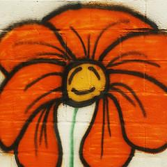 Joy (anadelmann) Tags: usa flower wall newjersey joy nj graffitti blume mauer freude f2549 anadelmann nxpl