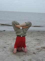 Yoga an der Nordsee
