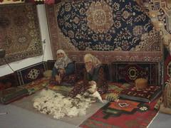 Fileuses de laine (munch54) Tags: tapis laine fileuses