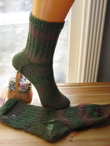 Slippin' Strippin' Socks - Laceweight