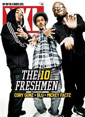 cory gunz blu mickey factz  xxl magazine the freshmen 10 cover