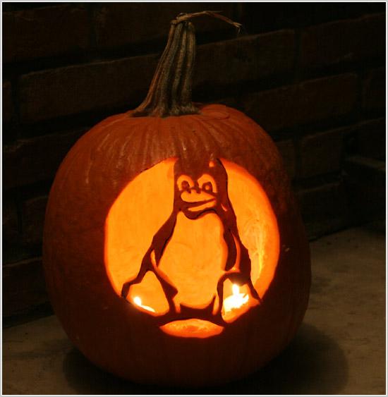 Tux pumpkin