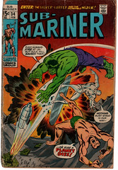 Sub-Mariner 34 (Todd Wilson) Tags: comics marvelcomics submariner namor