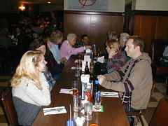 Tim's extended family at Wiechec's. (01/28/2000)