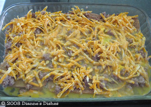 Breakfast Casserole: Ready to Bake