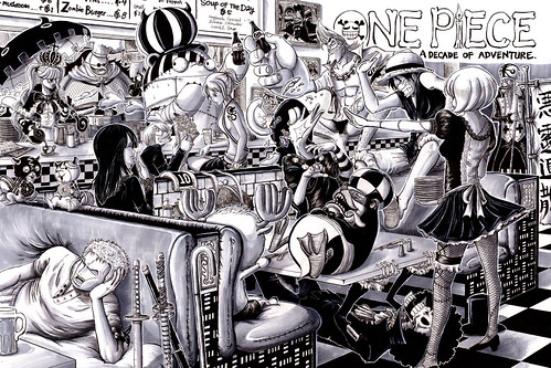One Piece 10 anos por e1n