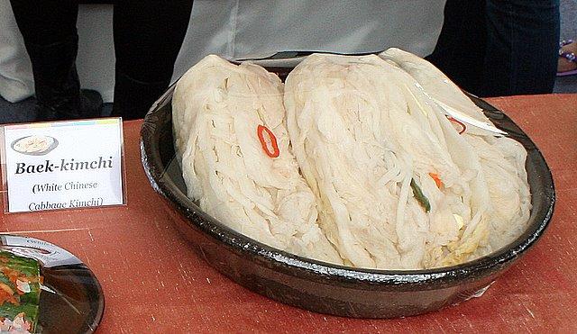Baek-kimchi - White Chinese Cabbage Kimchi