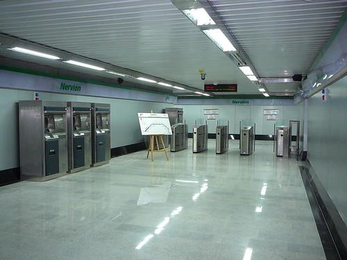 Visita Sevilla21 al Metro de Sevilla, 5/Nov/2008 - P1060268.JPG