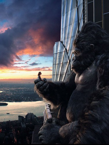 King Kong (2005) - Kong & Darrow 02